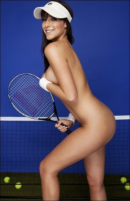 Women Tennis Fully Naked