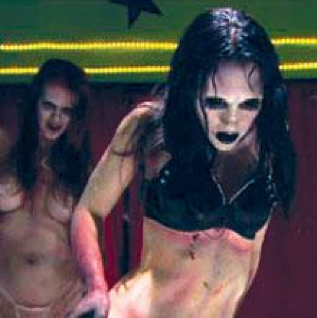 Are not zombie movie with nude dancing girl apologise